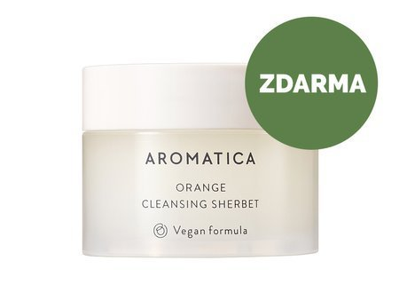 Aromatica - Mini Orange Cleansing Sherbet - ZDARMA